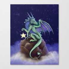 Dragon Star Canvas Print