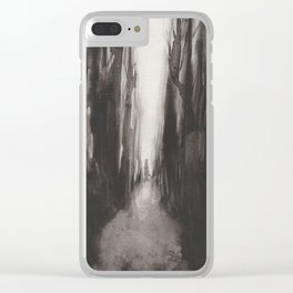 Spirit of the Woods Clear iPhone Case