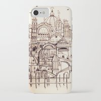 venice iPhone & iPod Cases featuring Venice by Justine Lecouffe