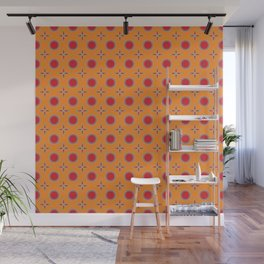 Growing Up Retro Wall Mural