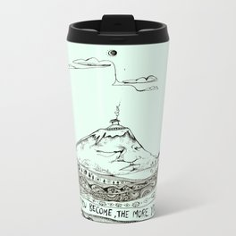 The quieter you become... Metal Travel Mug