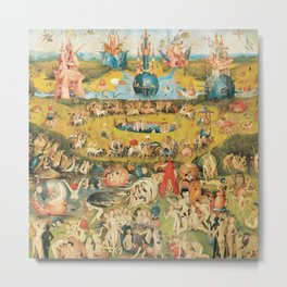 Bosch Garden Of Earthly Delights Metal Print