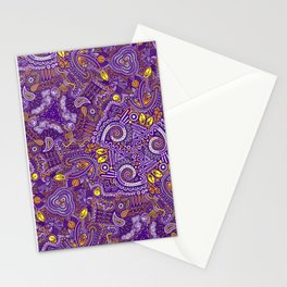 Paisley (purple) Stationery Cards