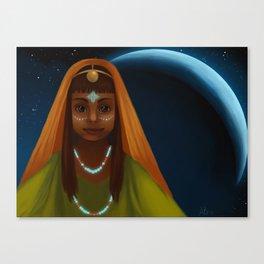Cresent Canvas Print