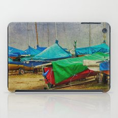 Green Among Blue iPad Case