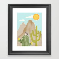 Sonoran Framed Art Print