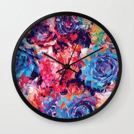 Fiona Floral Wall Clock