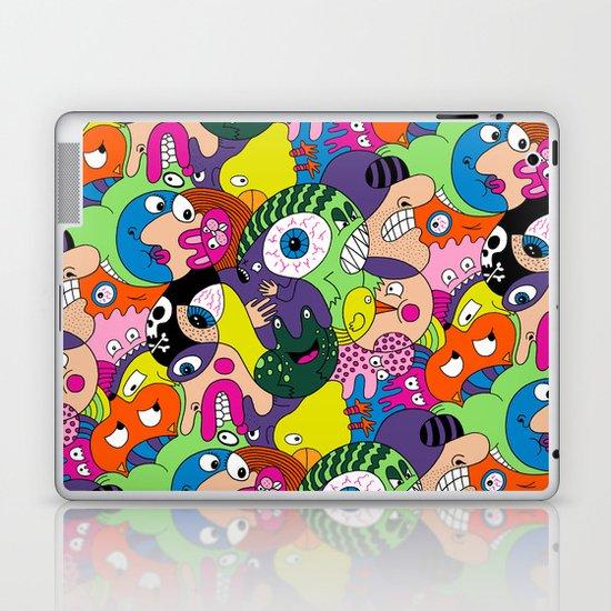 Alien Pattern Laptop & iPad Skin