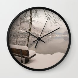 Lake Bohinj Wall Clock