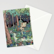 Artist in the Wild Stationery Cards