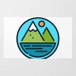Mountain Beach Rug