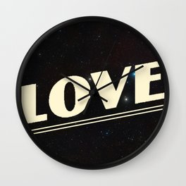 Young And In Love #2 Wall Clock