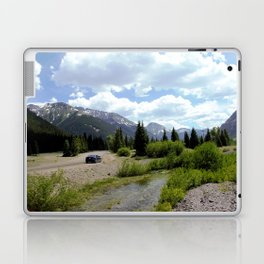 Following the Upper Animas River on the Alpine Loop toward Silverton Laptop & iPad Skin