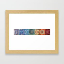 Chakras (Horizontal) Framed Art Print