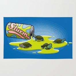 Slurm and Turtles Rug