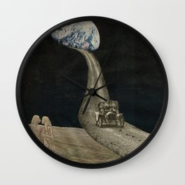 We Travel the Spaceways Wall Clock