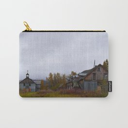 Abandoned Orphanage in Northwest Alaska Carry-All Pouch