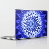 parks and recreation Laptop & iPad Skins featuring Mandala Recreation by Christine baessler