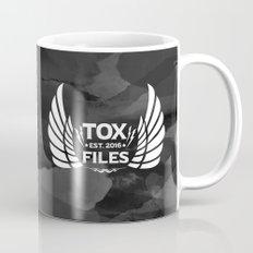 Tox Files - White on Gray Mug