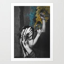 Smoke and Ash Art Print