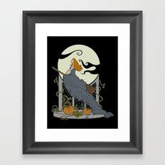 Halloween Nouveau Framed Art Print