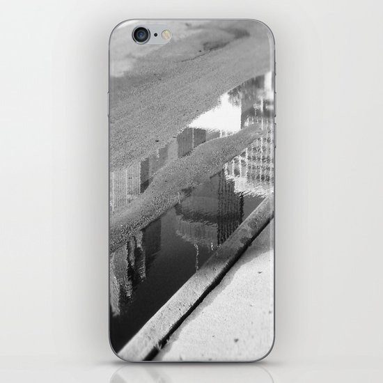 Downtown Reflection iPhone Skin