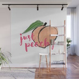 JUST PEACHY Wall Mural