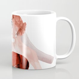 Red evening dresses, Fashion Beauty, Fashion Painting, Fashion IIlustration, Vogue Portrait, #17 Coffee Mug