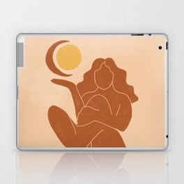 The Sun, The Moon and a Woman Laptop & iPad Skin