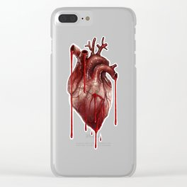 My Bleeding Heart Clear iPhone Case