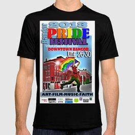 Commemorative Bangor PRIDE Festival 2013 T-shirt