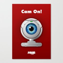 Cam On! Canvas Print