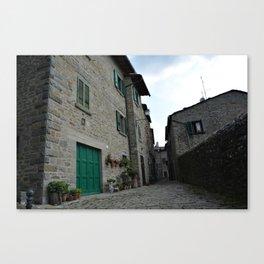 Cortona Villa Canvas Print
