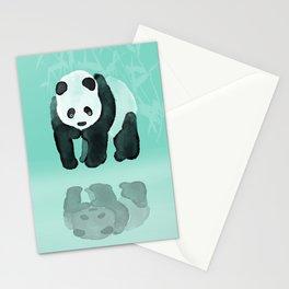 Panda meets Panda Stationery Cards