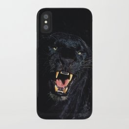 Black Leopard (Panther) iPhone Case