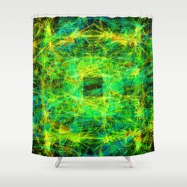 Star Squirt Opening II Shower Curtain