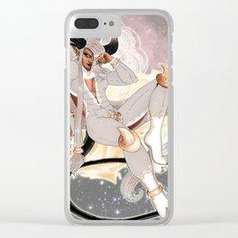 Lace Regale Clear iPhone Case