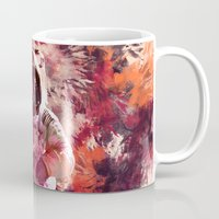 spaceman Mugs featuring Watercolor Spaceman by Mark Kriegh