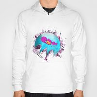 edm Hoodies featuring Edm Pure Love - Dope Ghost by Dope Ghost