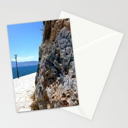 Graffiti by the Sea in Nafplio Stationery Cards