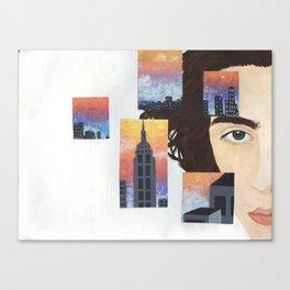 Timothee Chalamet Canvas Print