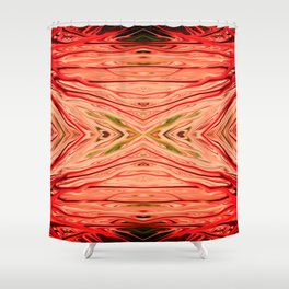 Strawberry Firethorn Quad III by Chris Sparks Shower Curtain