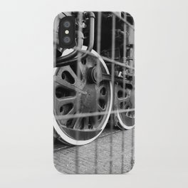 The Wheels are Turning iPhone Case