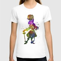 captain hook T-shirts featuring Captain Hook in watercolor by Paulrommer