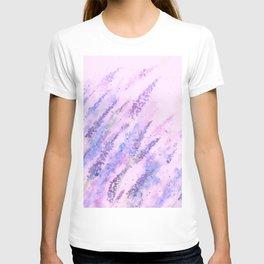 Study of Lavender fields T-shirt