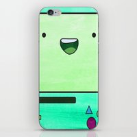 bmo iPhone & iPod Skins featuring BMO by Some_Designs