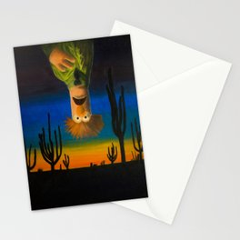Existential Beaker Stationery Cards
