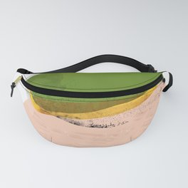 Abstract Desert 5 Mid-Century Modern Fanny Pack