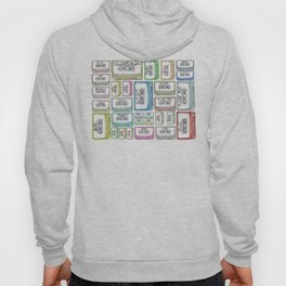 Tape Mix 2 Vintage Cassette Music Collection Hoody