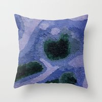 geode Throw Pillows featuring Geode by GabriielleViictoriia